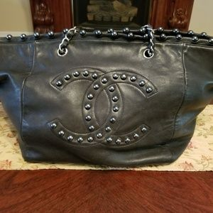 Chanel Pearl Obsession XL Shopper Tote Bag